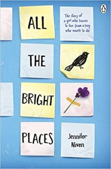all the bright place book cover