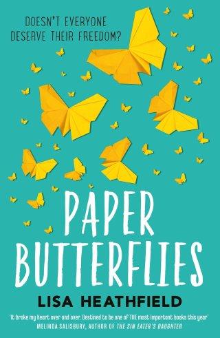 paper butterflies book cover