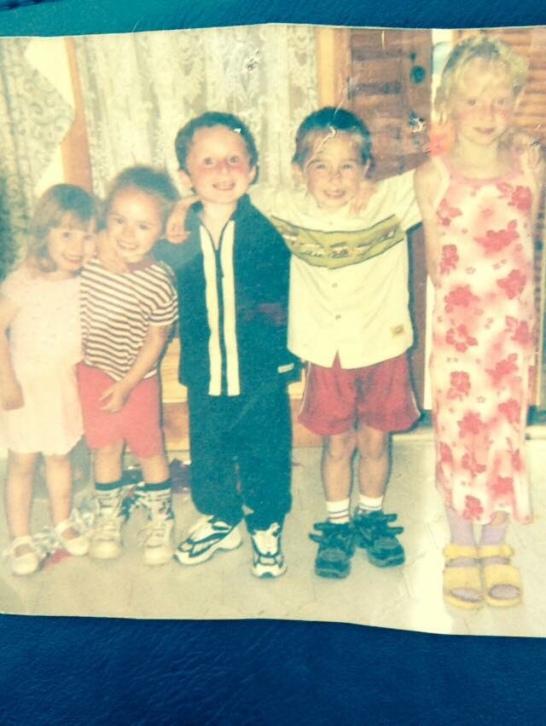Me, Stephen, Ben, Andrew and cheryl!